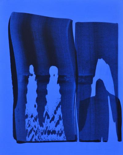 Blue Velvet, 2007, acrylic on canvas